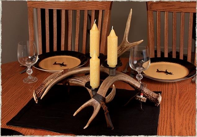 Antler Candle HolderAntlers Candles, Outdoorsy Fun, Candle Holders, Candles Holders, Denenecek Passed, Antlers Art, Households Ideas