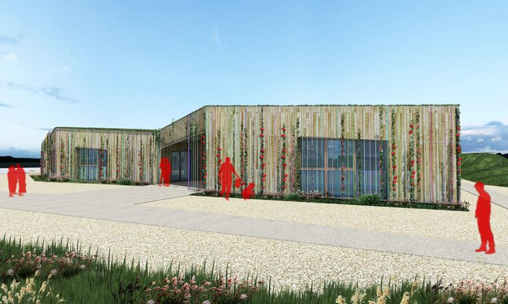 BFA | Multi-aged community centre #architecture #3dModelling #contemporary #modern #mountains