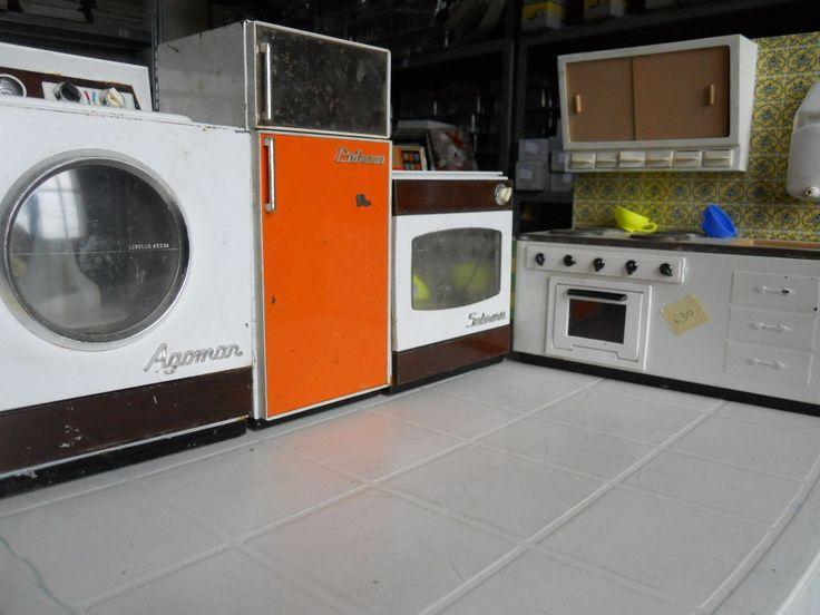 Cucina Completa Giocattoli in Latta Marchesini anni 60 - Introvabili Su EBAY !! | eBay