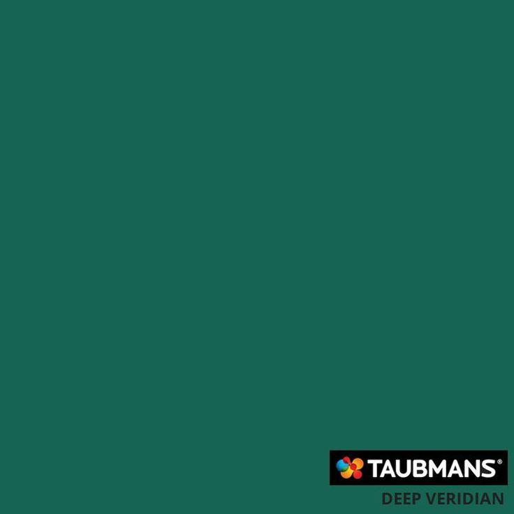 #Taubmanscolour #deepveridian