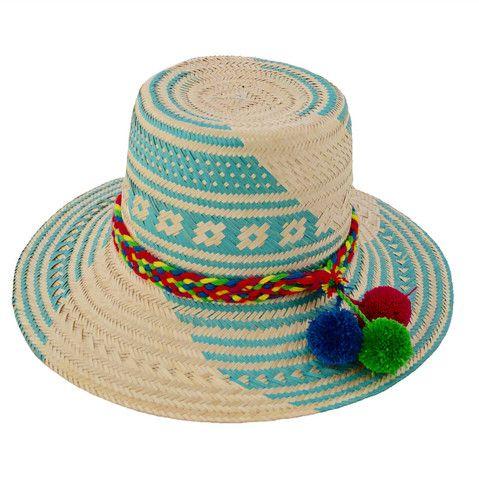 Wayuu Womu Pom Pom Hat Mer