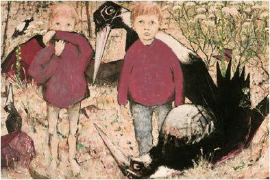 Clifton Pugh Art Gallery of South Australia Maude Vizard-Wholohan Art Prize Purchase Award 1958