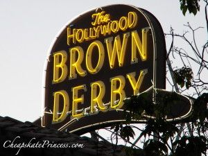 The Top 20 Best Disney Restaurants -- as selected by the fans!  Complete with menus, prices, and reservation information  Disneys-Brown-Derby-Restaurant-300x225