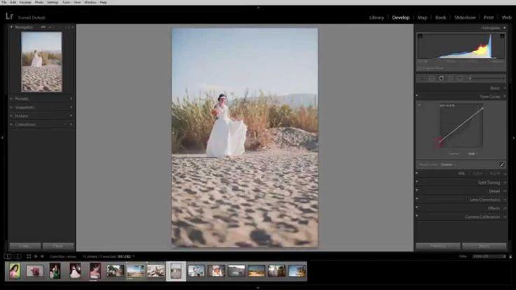 Ukázka z video kurzu Adobe Lightroom®: křivky
