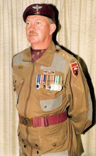 Col. Phillip Jackal - 1 Para Bn, SADF