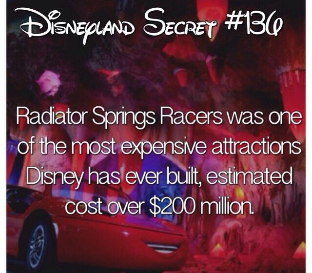 Disneyland facts follow for more