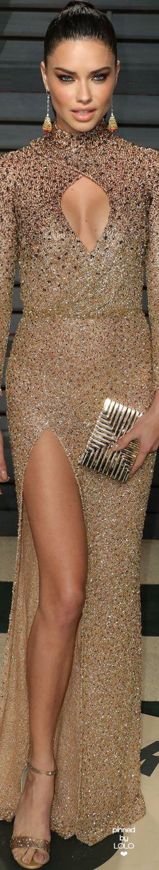 Adriana Lima 2017 Vanity Fair Oscar Party