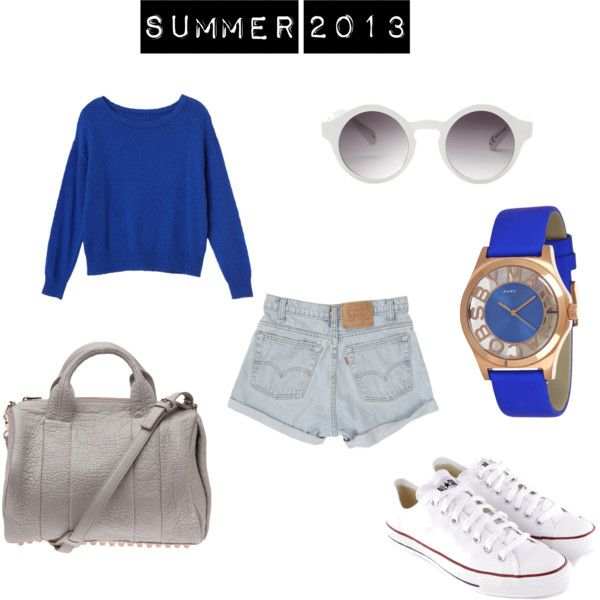 Swag+Outfits+Polyvore+Summer+2013 | fashion look from March 2013 featuring Monki sweaters, Converse ...