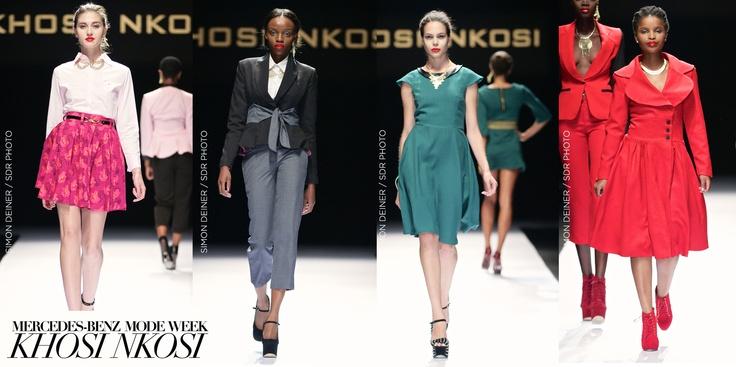 KHOSI NKOSI. Mercedes-Benz Fashion week JHB 2013.