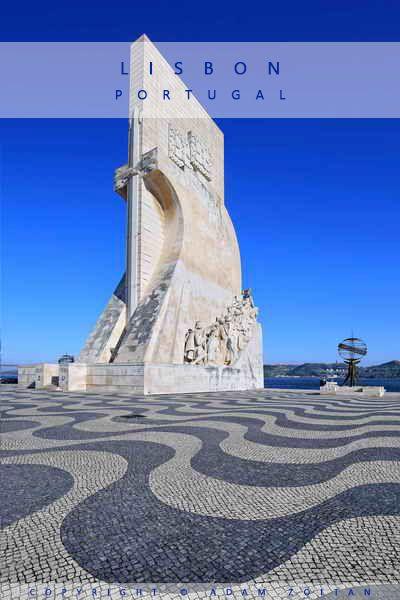 Padrao dos Descobrimentos monument in Lisbon, Portugal
