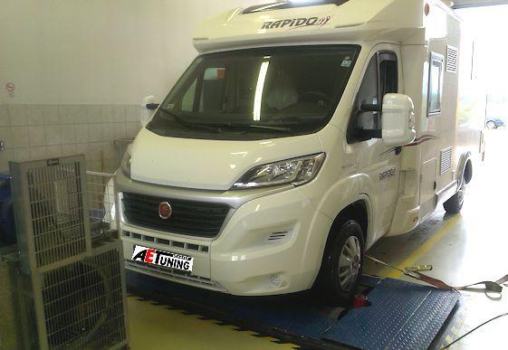 Fiat Rapido 130 Multijet Lakóbusz Chiptuning