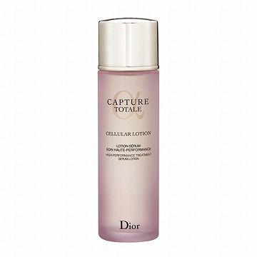【ハリのあるしなやかな肌へ導く高機能化粧水】クリスチャンディオール (Christian Dior)  カプチュール トータル セルラー ローション ***独自の高浸透フォーミュラで、瞬時にうるおいで満たし、優れたエイジングケアで、ハリのあるしなやかな肌へ導く高機能化粧水。角質層を整えて浸透を促し、有用成分を肌内部まで引き込み、様々なうるおいを届けるみずみずしいテクスチャーです。優れたスキンケア効果を持つ希少な植物ロンゴザに加え、ケンジンを高配合しています。