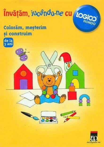 Finken - Logico - Coloram, mesterim si construim -