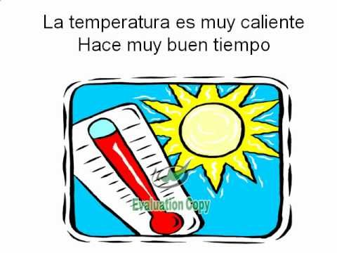 Teach Spanish Weather vocabulary to the tune of Boom Boom Pow by the Black Eyed Peas!
