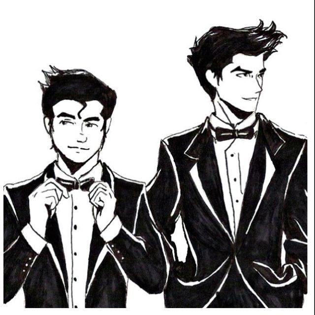 Bolin and Mako. This reminds me so much of Jon and Cole from Capital Kings!