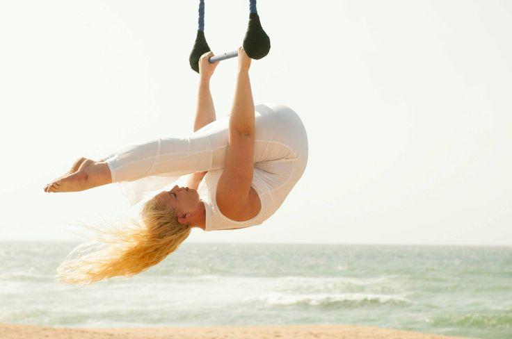 Trapeze on the beach - Michelle Hutchinson