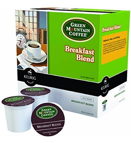 Keurig Green Mountain Coffee Breakfast Blend 18-pk. K-Cup Portion Pack *** More details can be found by clicking on the image.