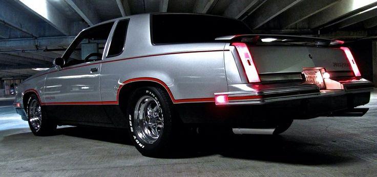 84 Hurst Olds Moody Art Pic 1984 Hurst Oldsmobile