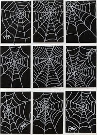 Good activity for Halloween or when learning about spiders. Reading charlotte's web?