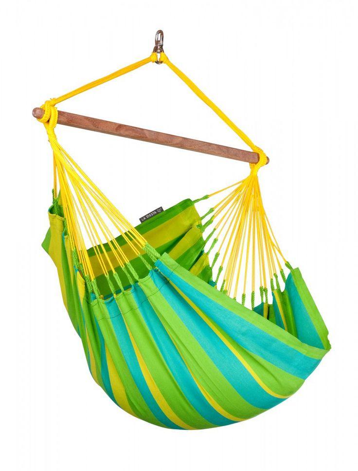 Single Hammock Chair | Bamboo Spreader Bar | Weatherproof Fabric - 1502 Best Hanging Hammock Chair Images On Pinterest Hanging