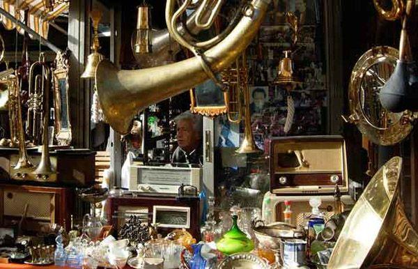 An Antique Shop in Monastiraki