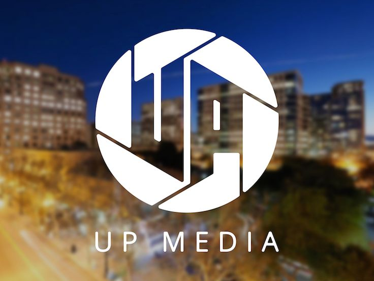 Logo for UP Media by Maddy Raff