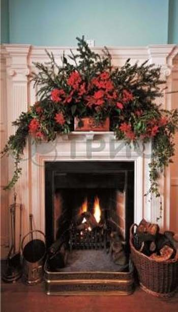"""WALL-HUNG FILM TYPE INFRARED (LONG-WAVE) HEATER (PANEL) 220V Picture """"Fireplace"""" #TRIO"""