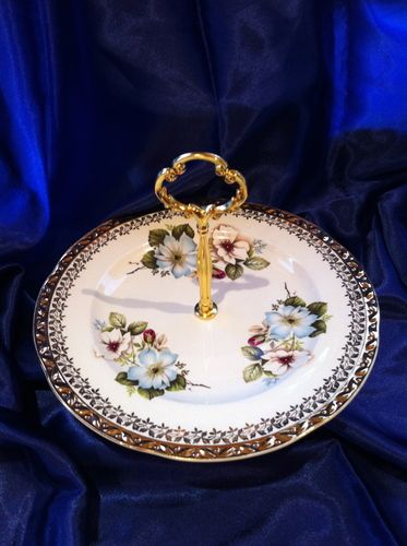 ROYAL Falcon Ware Vintage Cake Stand, $22.00 NZD