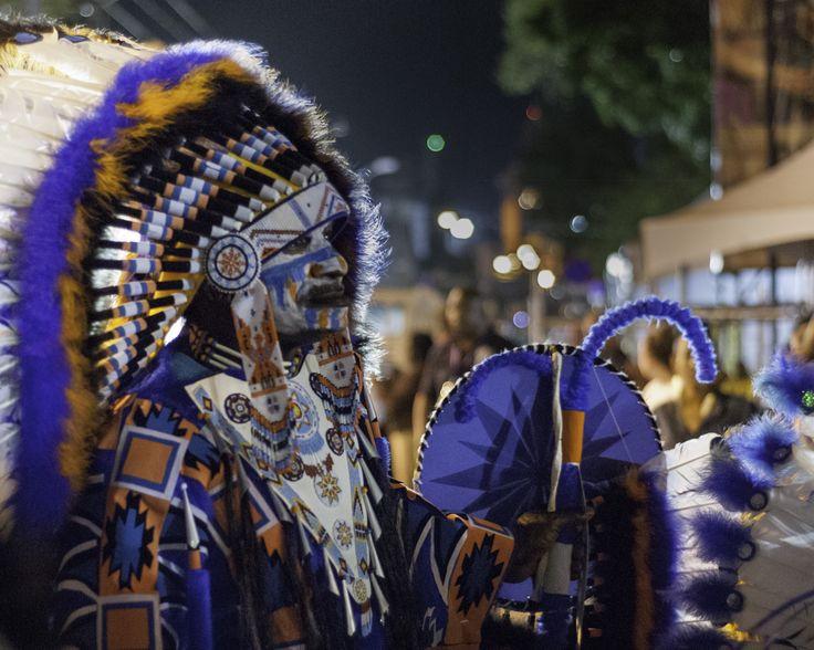 Seasoned veteran Carnival Performer Masquerader - Trinidad Carnival 2016, Woodbrook Port-of-Spain, Trinidad