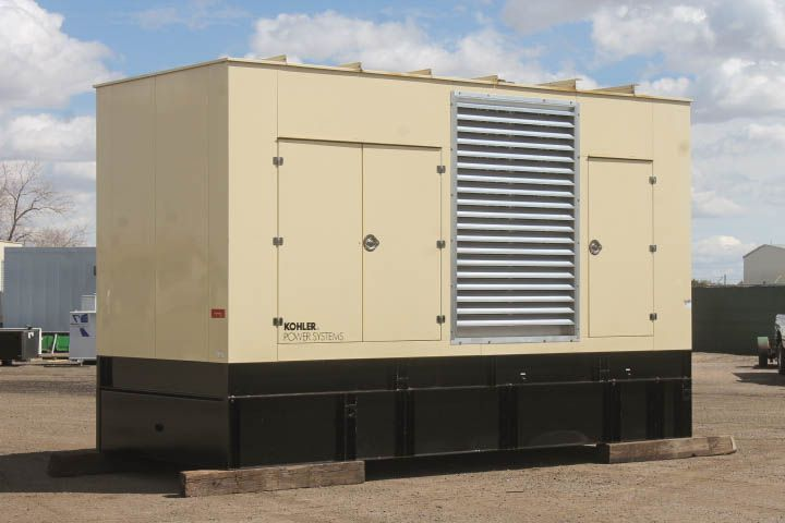 For Sale! Unit #87517 Kohler 800 kW Standby Natural Gas Generator Set. Model 800REOZM, Year 2005, 580 hours run since new, 480 Volt, 3 Phase, Auto Start/Stop, 24 Volt Alternator, Dry Pack Air Cleaner, Digital Engine and Generator Control Panel. Call for more info! (800)853-2073 http://www.dieselserviceandsupply.com/Used-Generators/Kohler-0-87517.aspx