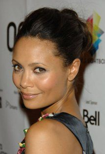 Thandie Newton - my husband and I just discovered we had this chick confused with Zoe Saldana....I thought Thandie Newton was in Columbiana! - I was very wrong