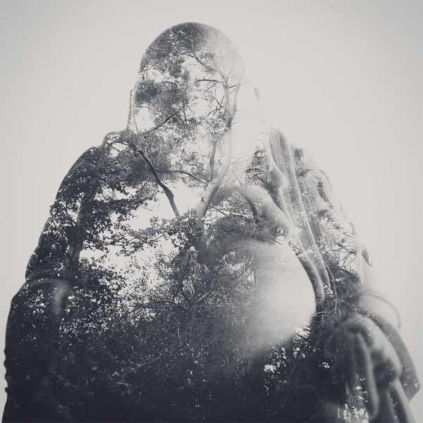 Dan Mountford - Stunning double exposures  Double exposure portraits which were created in camera and slightly edited in photoshop.