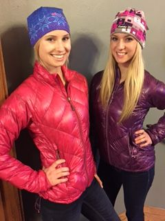 Outdoor Research Women's Filament Down Jacket in Orchid