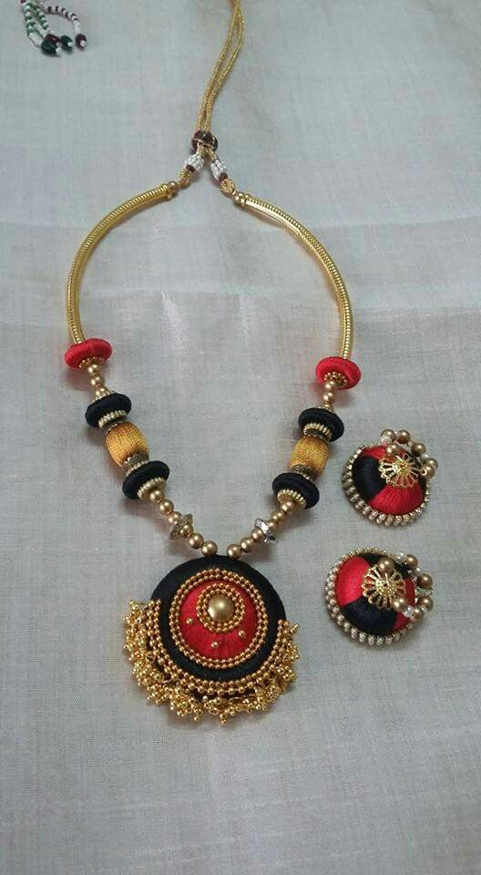 392 best images about indian silk thread jewellery on