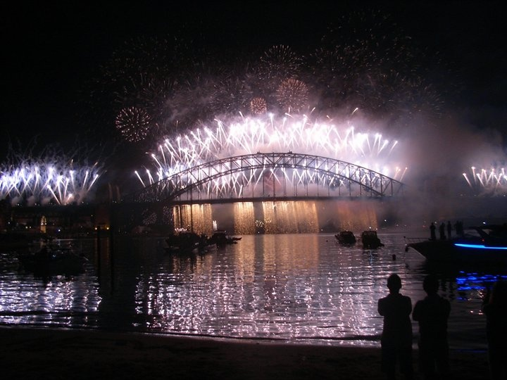 Sydney Harbor Bridge, New Year's Eve - 2010 AWESOME NYE!