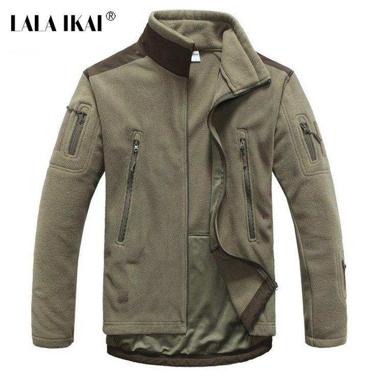 Aliexpress.com: IKAI Outdoors üzerinde Güvenilir ceket giyim tedarikçilerden Erkekler Ceket Softshell Windstopper Termal Erkekler Polar Ceket Kalın Sıcak Nefes Açık Erkekler Taktik Askeri Ceket HMJ0026 f Satın Alın