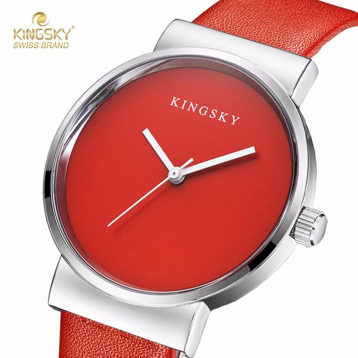 KINGSKY Luxury Wrist Watches PU Leather Strap Colorful Fashion Brand New Arrival Watch For Men Women-in Women's Watches from Watches on Aliexpress.com | Alibaba Group