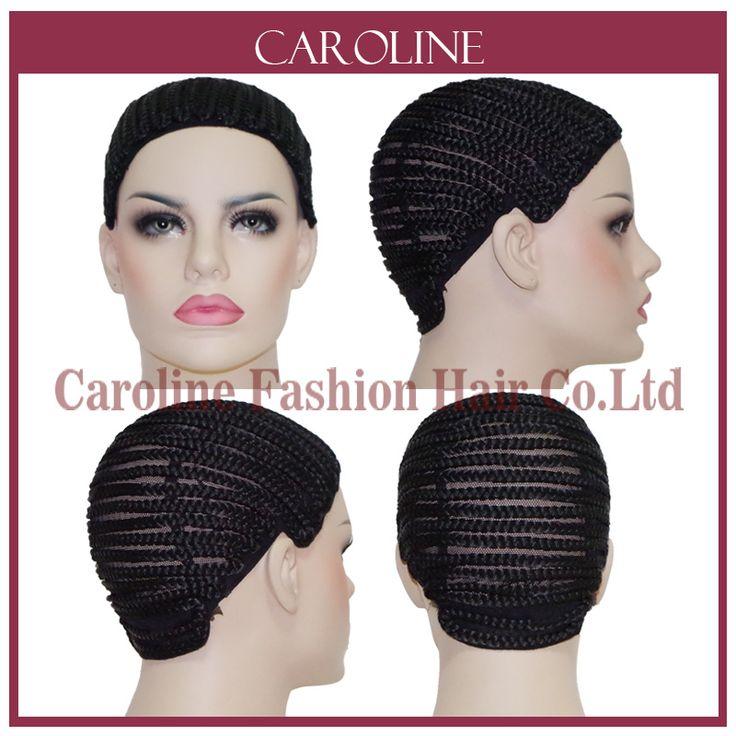 Cornrow Wig Caps Untuk Membuat Wig Dengan Adjustable Tali Dikepang Cap Untuk Menenun Wig Rosa Produk Rambut Wanita Hairnets Easycap 6039