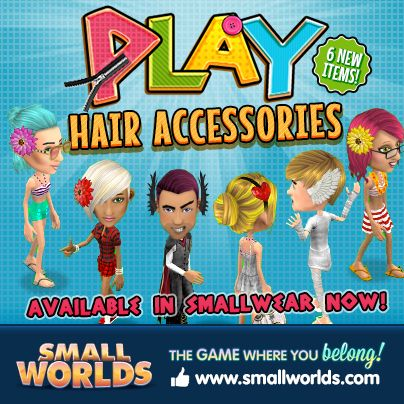 LOVE these new Play Hair Accessories!