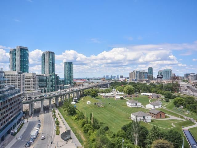 Overlooking Historic Fort York in the heart of #Toronto - 2 bedroom with parking and locker $419,900