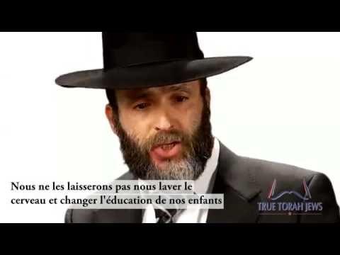 Un juif orthodoxe explique ce qu'est la véritable nature du sionisme et dénonce ses objectifs   Le Libre Penseur