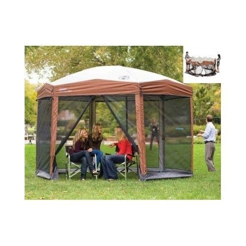 Pop-Up-Gazebo-Side-Walls-Instant-12x10-Tent-Camping-Outdoor-Party-Screen-Canopy