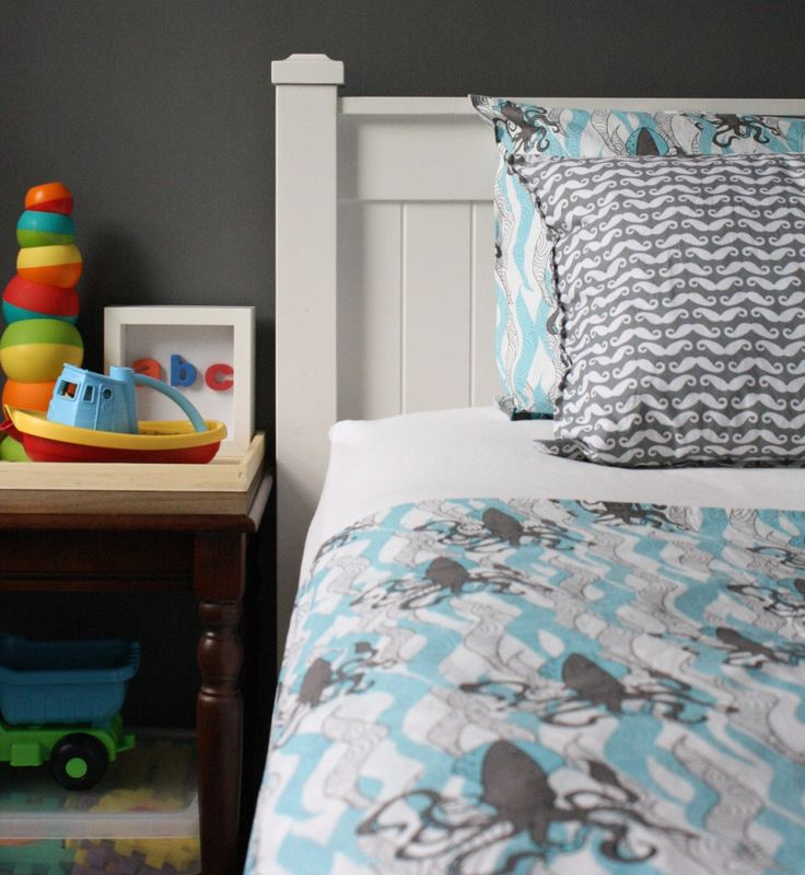 Little Ocean Organic Duvet Set. Boys Bedding ...