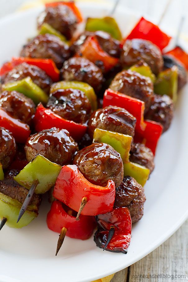 #Recipe: Sweet and Sour Meatball Skewers