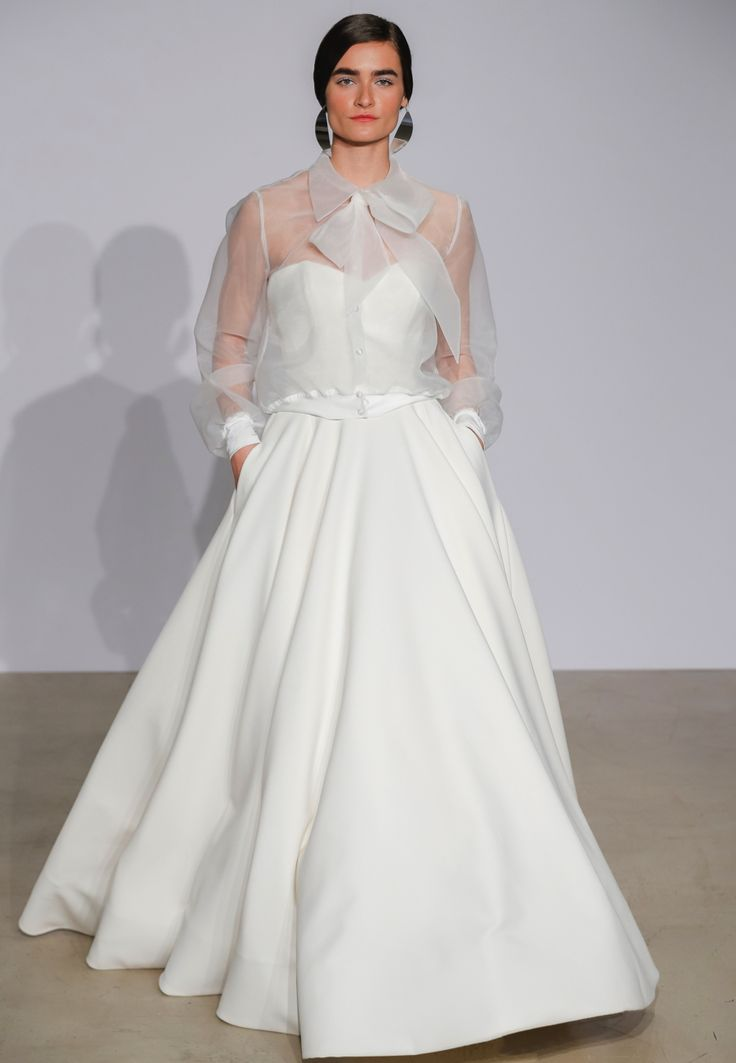 Simple The key wedding dress trends from New York Bridal