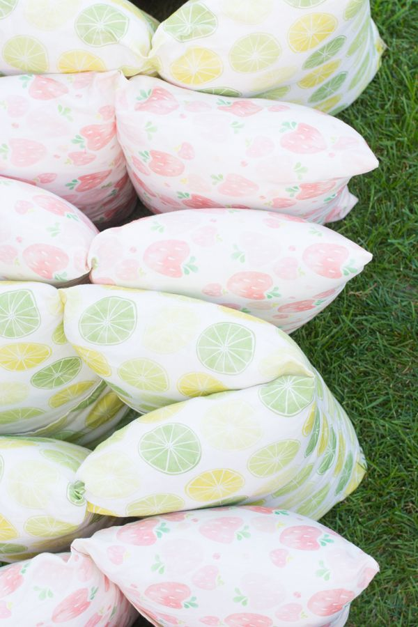 Make a Pillow Bed for Lazy Summer Days