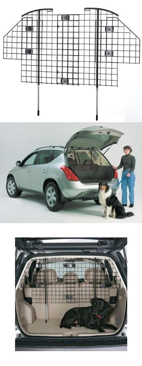 Car Seats and Barriers 46454: Dog Barrier For Suv Restraint For Car Van Vehicle Gate Universal Fit Cage Safety BUY IT NOW ONLY: $62.0