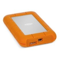 Lacie 9000291 Rugged USB3 Thunderbolt 120GB SSD 380MBps TransferRate
