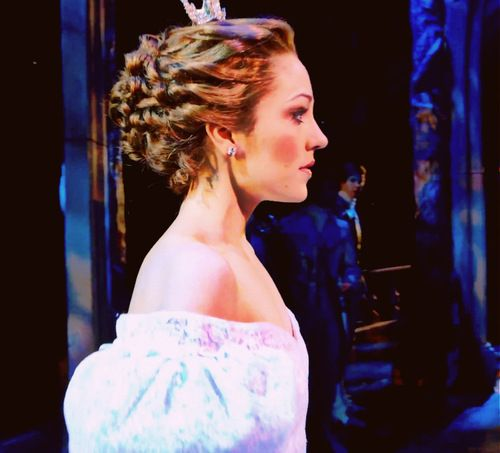 Laura Osnes as Cinderella on Broadway