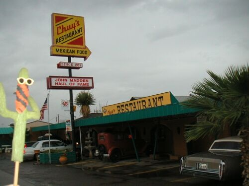 chuy's restaurant-- van horn texas
